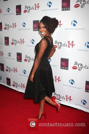 Shanola Hampton - Les Girls 14 Cabaret Benefit - Arrivals at Avalon - Los Angeles, California, United States - Tuesday...