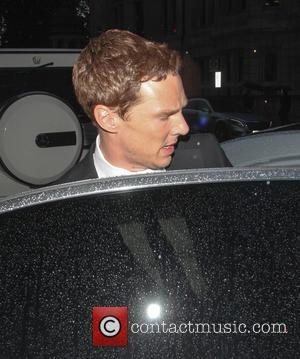 Benedict Cumberbatch - Benedict Cumberbatch leaving his hotel - London, United Kingdom - Wednesday 8th October 2014