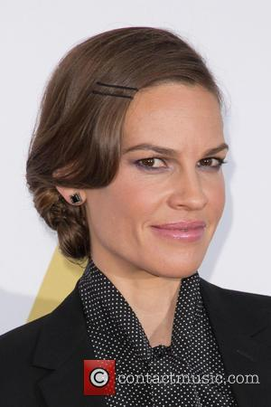 Hilary Swank - A-list stars attended a private luncheon in Hollywood at the Wilshire May Company Building in Los Angeles,...