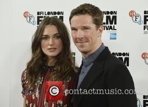 Kiera Knightley and Benedict Cumberbatch