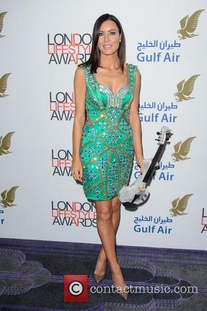 Linzi Stoppard - London Lifestyle Awards 2014 - London, United Kingdom - Wednesday 8th October 2014