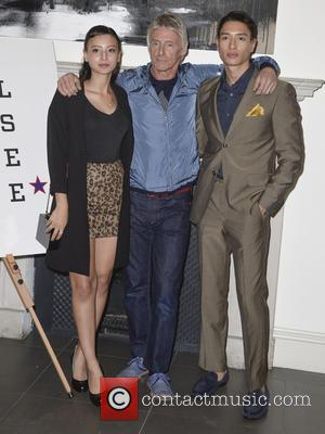 Leah Weller, Paul Weller and Nathaniel Weller - Photographs of stars as they arrive at the launch party for Real...