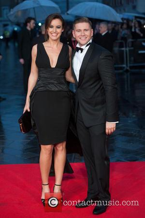 Allen Leech and Charlie Webster - The Imitation Game - opening film at Odeon Leicester Square - London, United Kingdom...