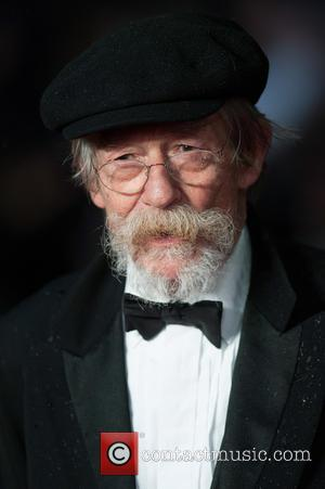 John Hurt - The Imitation Game - opening film at Odeon Leicester Square - London, United Kingdom - Wednesday 8th...