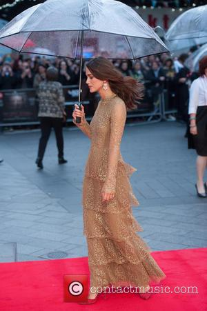 Keira Knightley - The Imitation Game - opening film at Odeon Leicester Square - London, United Kingdom - Wednesday 8th...