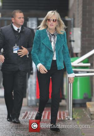 Twiggy - Photographs of a variety of celebs outside the ITV studios in London, United Kingdom - Wednesday 8th October...