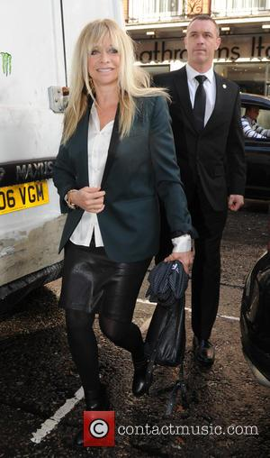 Jo Wood - Celebrities outside 34 restaurant in London - London, United Kingdom - Wednesday 8th October 2014