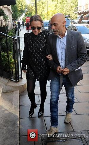 Jaime Winston - Kate Moss out in London - London, United Kingdom - Wednesday 8th October 2014