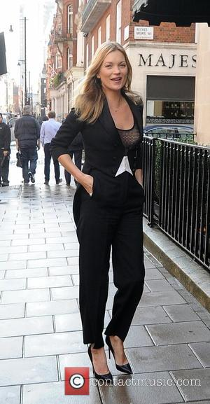 Kate Moss - Kate Moss out in London - London, United Kingdom - Wednesday 8th October 2014