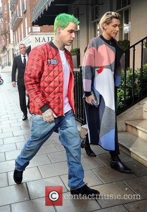 Ricky Hilfiger - Kate Moss out in London - London, United Kingdom - Wednesday 8th October 2014