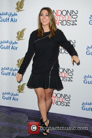 Luisa Zissman - London Lifestyle Awards 2014 - Arrivals - London, United Kingdom - Wednesday 8th October 2014