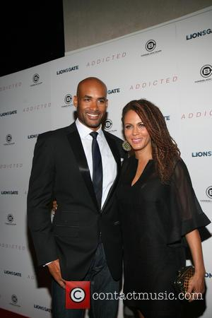 Boris Kodjoe and Nicole Ari Parker - A variety of celebs were photographed on the red carpet as they attended...