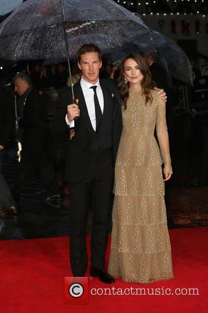 Keira Knightley and Benedict Cumberbatch - LFF: The Imitation Game premiere - Arrivals - London, United Kingdom - Wednesday 8th...