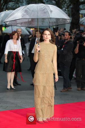 Keira Knightley - The Imitation Game, Opening Night Gala European Premiere at Odeon Leicester Square - London, United Kingdom -...