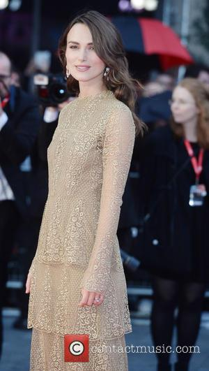 Keira Knightley - Stars of the new film 'Imitation Game' attended the premiere in London, United Kingdom - Wednesday 8th...