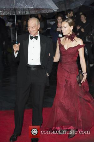Charles Dance and wife Joanna at Odeon Leicester Square