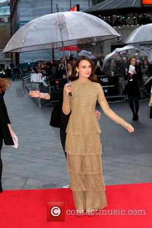 Keira Knightley - LFF: The Imitation Game premiere - Arrivals - London, United Kingdom - Wednesday 8th October 2014