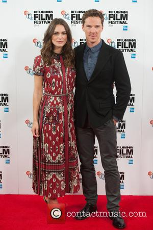 Keira Knightley and Benedict Cumberbatch - Benedict Cumberbatch and Keira Knightly attended the photocall for The Imitation Game at the...