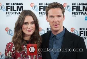 Benedict Cumberbatch and Keira Knightley