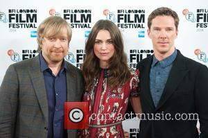 Keira Knightley, Benedict Cumberbatch and Morten Tyldum
