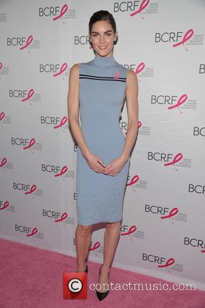 Hilary Rhoda - Many celebrities attended the Breast Cancer Research Symposium and Luncheon which was held at the Warldorf Astoria...