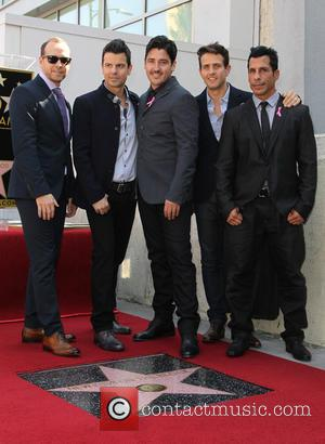 Donnie Wahlberg, Jordan Knight, Jonathan Knight, Joey Mcintyre and Danny Wood