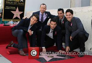 Joey Mcintyre, Jordan Knight, Donnie Wahlberg, Danny Wood and Jonathan Knight