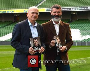 Roddy Doyle and Roy Keane