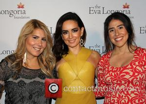 Ana De La Reguera and Guests - A variety of stars attended the Eva Longoria Foundation Dinner at the Beso...