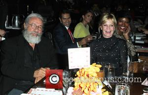 Edward James Olmos and Melanie Griffith - A variety of stars attended the Eva Longoria Foundation Dinner at the Beso...