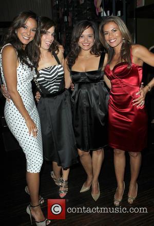 Eva LaRue, Ana Ortiz, Judy Reyes and Lisa Vidal - A variety of stars attended the Eva Longoria Foundation Dinner...