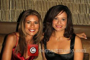 Lisa Vidal and Judy Reyes - A variety of stars attended the Eva Longoria Foundation Dinner at the Beso Retaurant...