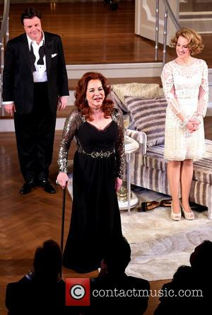 Nathan Lane, Stockard Channing and Megan Mullally