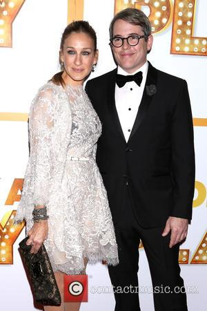Sarah Jessica Parker and Matthew Broderick - Snaps of the stars as they arrived at the opening night party for...