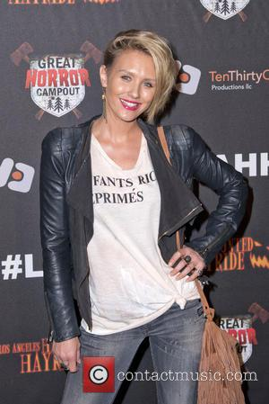 Nicky Whelan - A variety of stars attended LA's most talked about Halloween attraction The Los Angeles Haunted Hayride in...