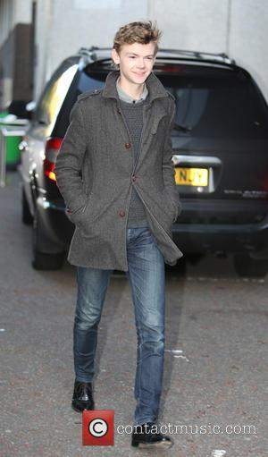 Thomas Brodie Sangster - Celebrities at the ITV studios - London, United Kingdom - Thursday 9th October 2014