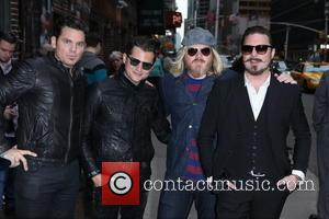 Rivalsons From L to R, Michael Miley, Jay Buchanan, Dave Beste and Scott Holiday - Late Show with David Letterman...