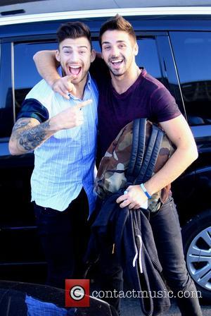 Jake Quickenden and Ben Haenow - Photographs of the contestants on the 2014 season of the X Factor at the...
