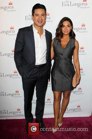 Mario Lopez and Courtney Laine Mazza - A variety of stars attended the Eva Longoria Foundation Dinner at the Beso...