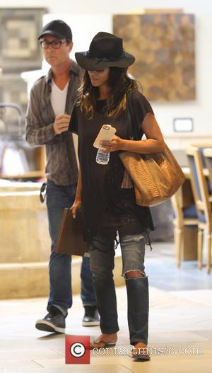 Halle Berry - Halle Berry shops for flooring in Beverly Hills - Beverly Hills, California, United States - Friday 10th...