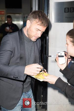 Gary Barlow - Celebrities at the BBC Radio 2 studios at BBC Portland Place - London, United Kingdom - Friday...