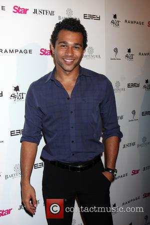 Corbin Bleu - A host of celebrities took to the red carpet for the 'Scene Stealers' event presented by Star...
