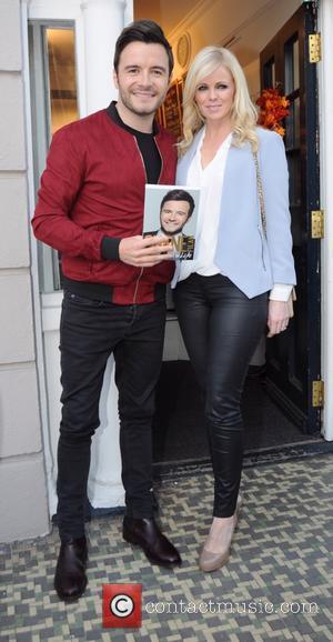 Shane Filan and Gillian Filan - Shane Filan launches his autobiography 'My Side of Life' at Old Music Shop -...