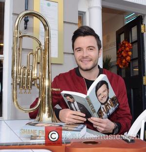 Shane Filan - Shane Filan launches his autobiography 'My Side of Life' at Old Music Shop - Dublin, Ireland -...