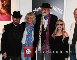 Dave Stewart, Christie Mcvie, Mick Fleetwood and Stevie Nicks