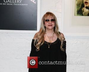 Stevie Nicks - Photos from American singer songwriter Stevie Nicks' art exhibit at a gallery in the Morrison Hotel in...