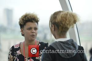 Gemma Cairney - British female celebs took over the London eye for International Day of the Girl in London, England,...