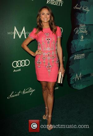 Stacy Keibler - Variety's 2014 Power of Women luncheon - Arrivals at Beverly Wilshire Four Seasons Hotel - Beverly Hills,...