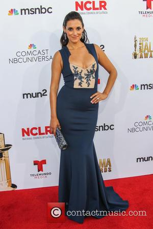 Angelique Cabral - 2014 NCLR ALMA Awards - Arrivals at Pasadena Civic Auditorium - Pasadena, California, United States - Friday...