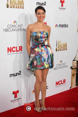 Aubrey Plaza - 2014 NCLR ALMA Awards - Arrivals at Pasadena Civic Auditorium - Pasadena, California, United States - Friday...